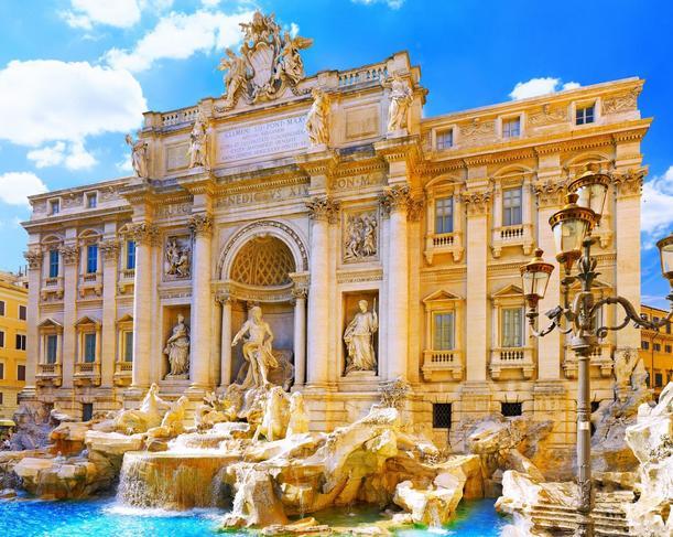 Roma Fontana di Trevi Foto Fontana di Trevi Roma