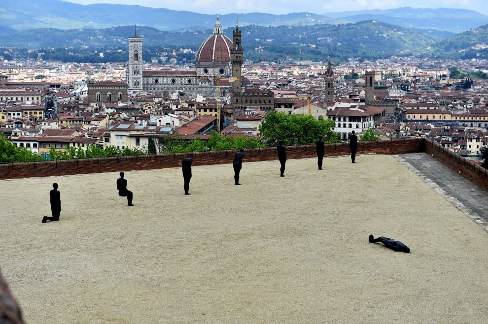 Le sculture di Anthony Gormley in mostra a Firenze